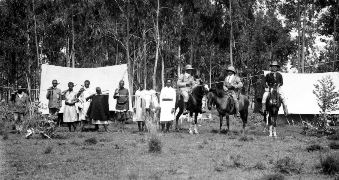 Англо-Американская экспедиция Дадли. Абиссиния, 1921.