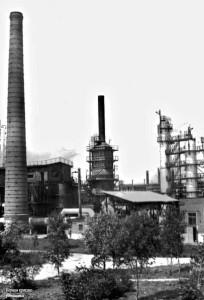 Первая крекинг-установка. 1930-е © «Мой район», 77 лет в интересах 77 региона.