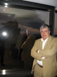 Павел Богомолов в офисе ЛУКОЙЛа в Каракасе
