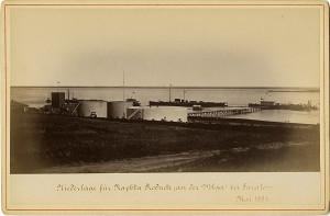 Пристань Нобелей в Саратове