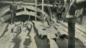 Бакинский промысел в 1905 году.