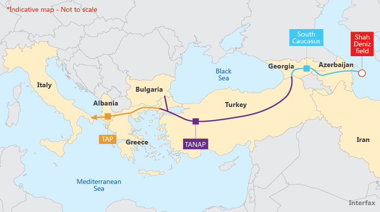 Азербайджан: новые препятствия на пути Южного газового коридора