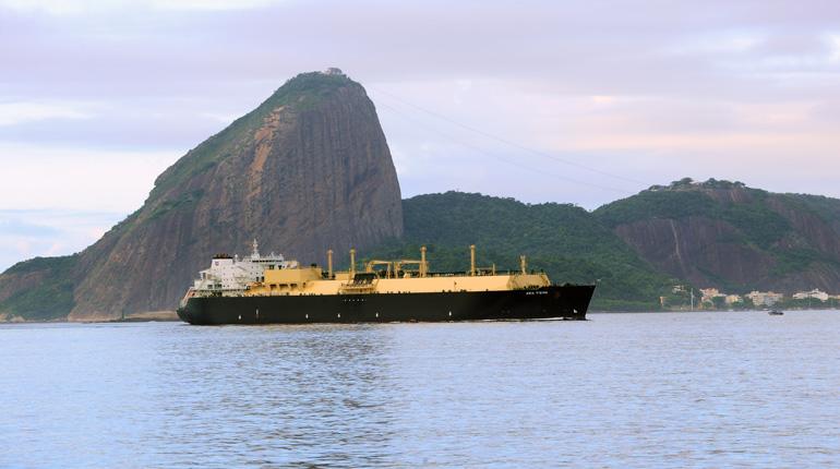 Первая партия СПГ с завода по сжижению газа Sabine Pass была экспортирована в Бразилию (Petrobras)