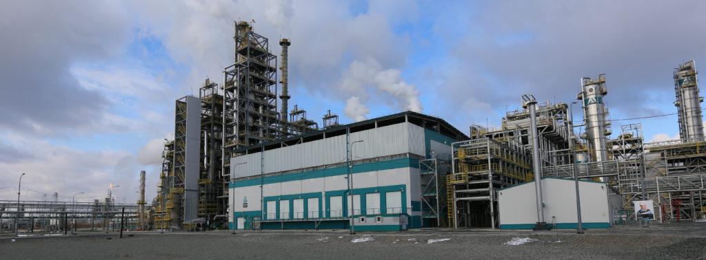 Действующий комплекс по производству полипропилена «СИБУР-Тобольск» («Тобольск-Полимер»)