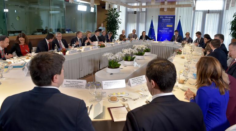 Предыдущий Евро-Украинский саммит в ноябре 2016