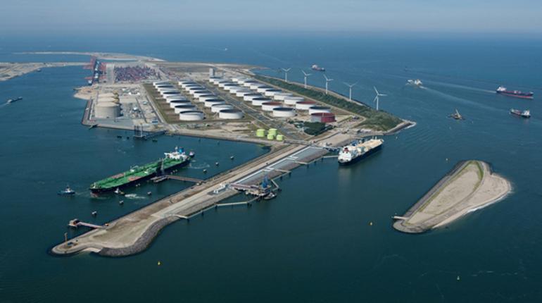 СПГ-терминал в Голландии. Aeroview b.v. - Rotterdam