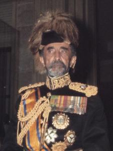 Хайле Селассие I, последний император Эфиопии. Январь 1969