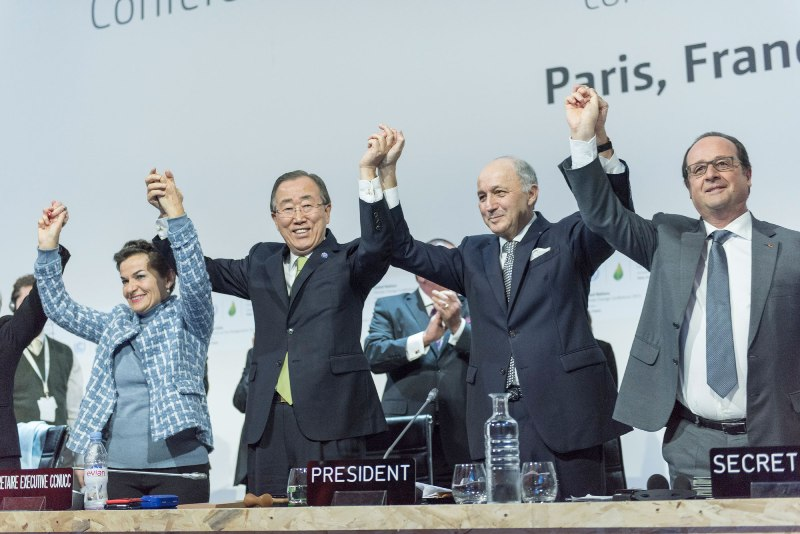 SG delivers remarks at the closing ceremony of COP21