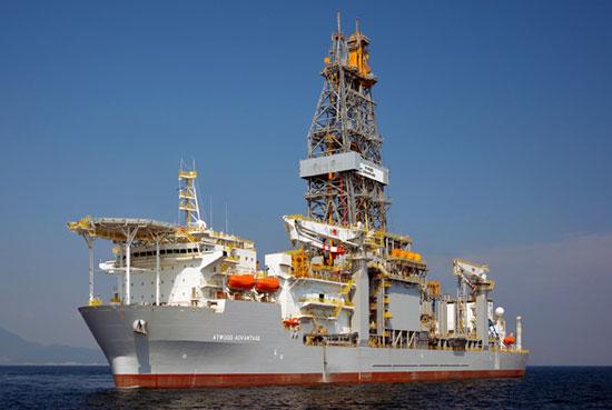 Atwood Achiver Drillship