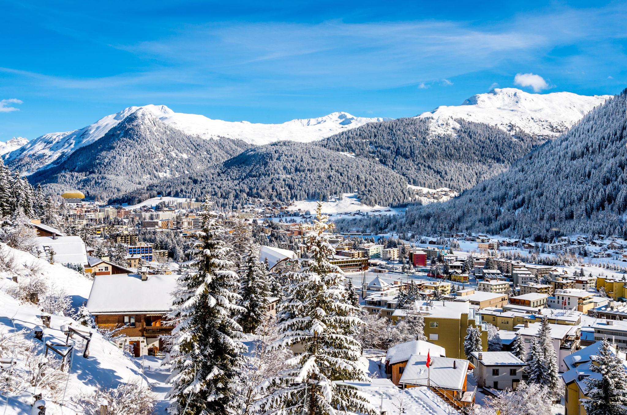 Посиделки в заснеженных Альпах