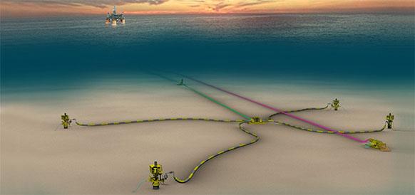 Shell начала добычу на Kaikias в Мексиканском заливе США
