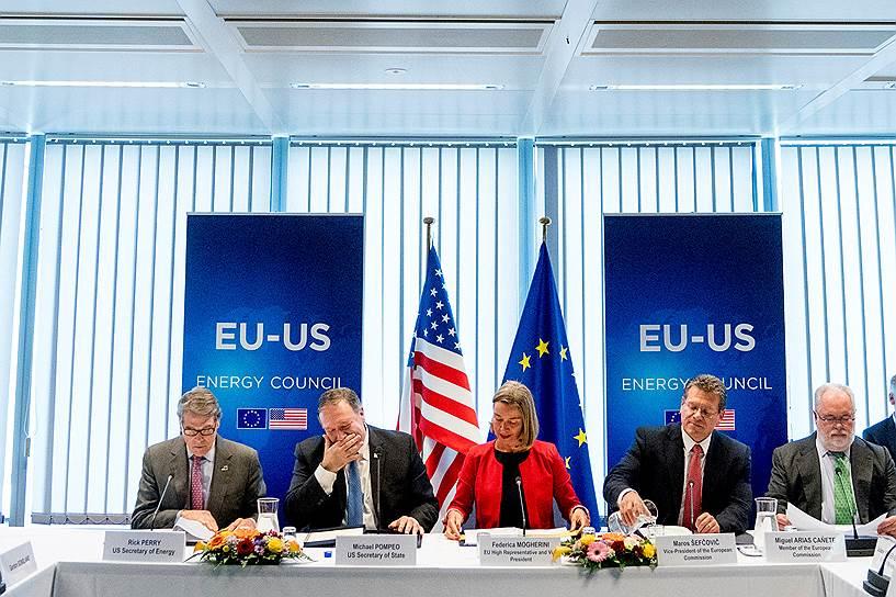 Американцы хотят в Европу, готовы ввести санкции против «Северного потока – 2»
